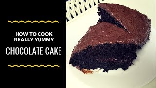 HOW TO MAKE VERY DELICIOUS CHOCOLATE CAKE