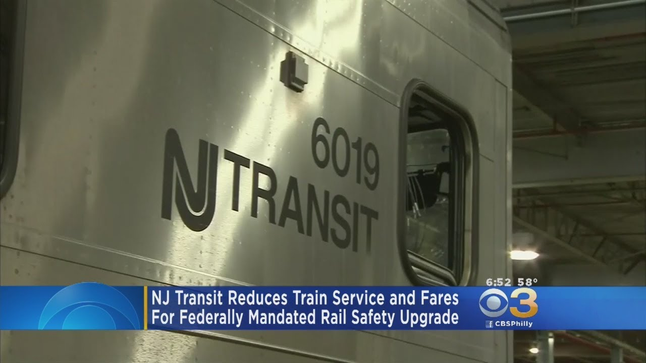 NJ Transit Reduces Train Service, Fares