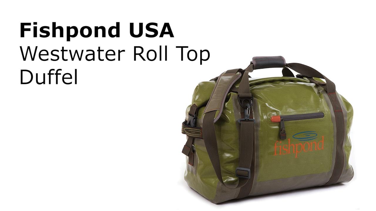 9466b0504325 Fishpond Westwater Roll Top Duffel - AvidMax
