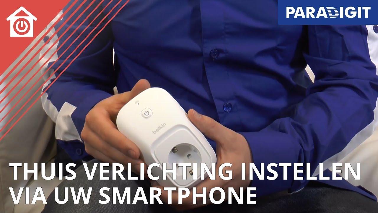 Verlichting met smartphone of tablet bedienen? Zo moet het! | Smart ...