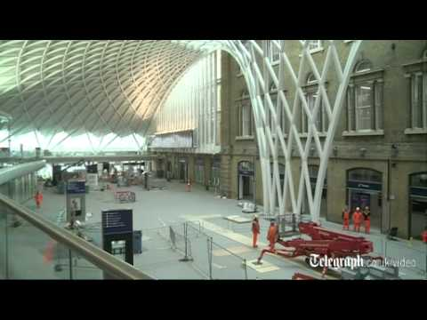 New concourse at King's Cross 'is very democratic'