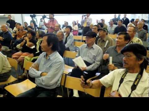 Bùi Tín nói về vụ thảm sát ở Huế dịp Tết Mậu Thân 1968. San Jose 23-6-2012