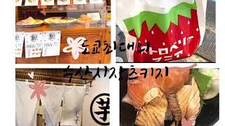 도쿄 츠키지 시장/다이후쿠/몬쟈고로케/고구마 디저트/해…