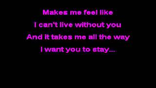 Rihanna Stay Karaoke