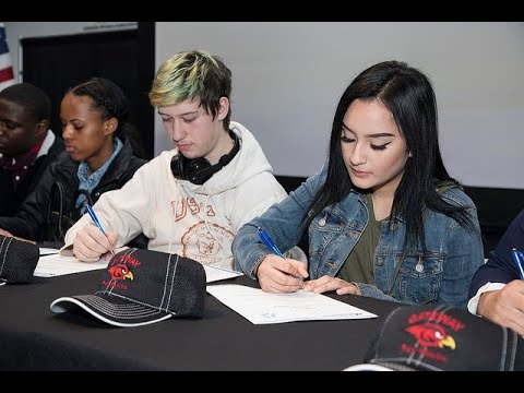 Gateway Technical College- National Career and Technical Education Letter of Intent Signing Day 2018