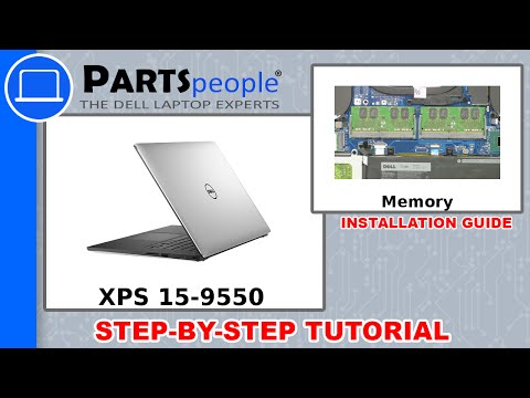 Dell XPS 15-9550 (P56F001) RAM Memory How-To Video Tutorial