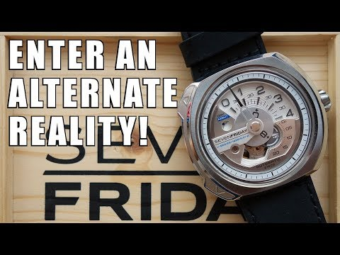 TransDimensional! SevenFriday V-Series V1/01 Automatic Watch Review - Perth WAtch #128