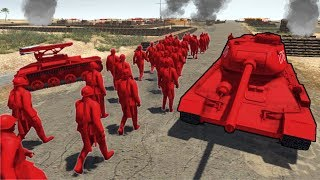 The Red Army Mobilises ! The Battle Of Devil Ridge (AMOW)