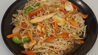Stir Fry Chicken & Beansprouts recipe Asian cooking