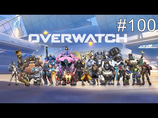 Let's Play Overwatch German #100 -  SPECIAL - JUBILÄUMSFOLGE