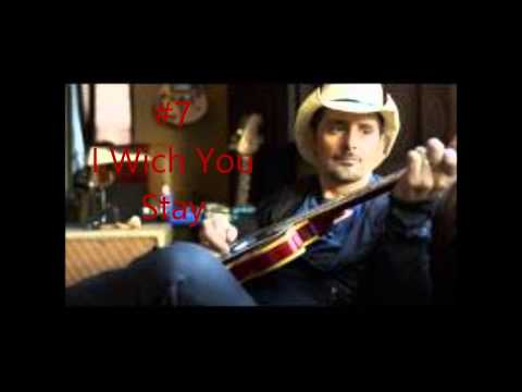 Top 20 Brad Paisley Songs
