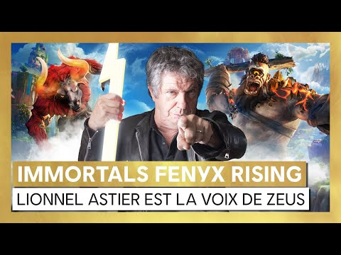 Immortals Fenyx Rising : Lionnel Astier prête sa voix à Zeus – Making-of [OFFICIEL] VF