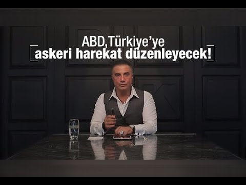 Sedat Peker,ABD'nin alçak planını yazdı