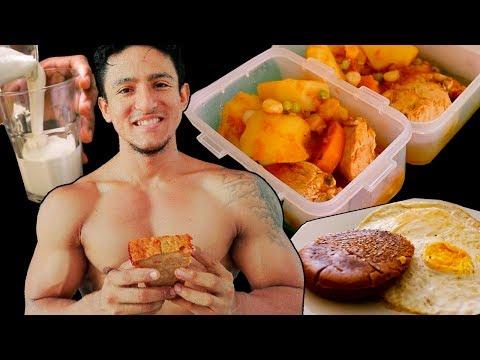 MI DIETA PARA PERDER GRASA | Cómo preparar las comidas