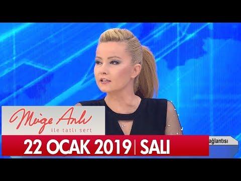 Müge Anlı ile Tatlı Sert 22 Ocak 2019 Salı - Tek Parça