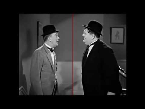 laurel and hardy - blockheads (Ball in the face)
