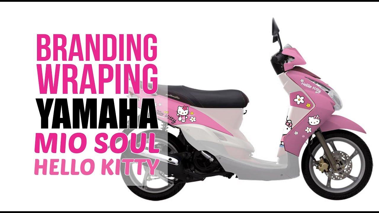BRANDING FULL MIO SOUL Hello Kitty YouTube - Mio decalscyrus grafix decals youtube
