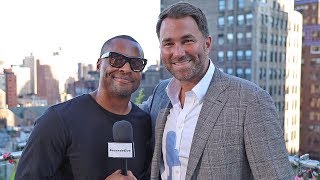 EDDIE HEARN: Anthony Joshua OFFERS Deontay Wilder Fight in AMERICA! + Updates on EVERYTHING