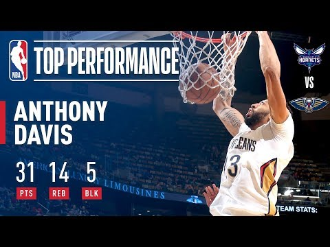AD Continues To Play OUT OF HIS MIND! (31 pts, 14 rebs, 3 asts, 5 blks, and 2 stls)