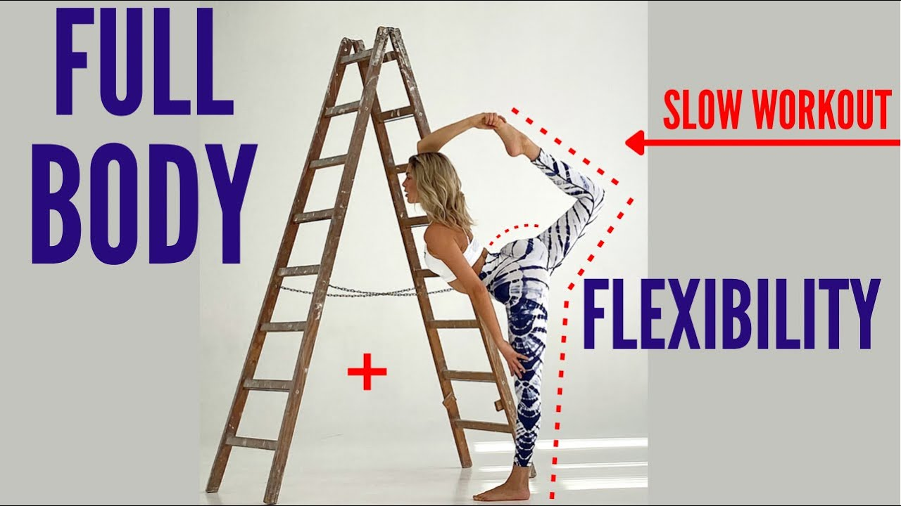 15 MIN. FULL BODY + FLEXIBILITY WORKOUT - slow exercises for flexibility and muscle grow |Mary Braun