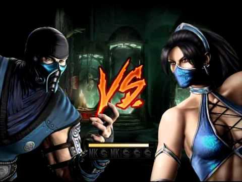 Mortal Kombat (2011) - El_Diamante52 (Sub-Zero) Vs Kitana ...