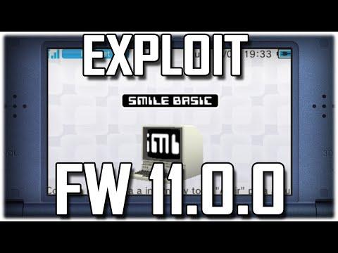 3DS Exploits - FW 11.0.0 -