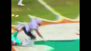Michael Floyd Nasty Block on dolphins player 💥