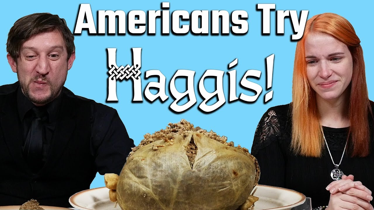 Download Americans Try Haggis!