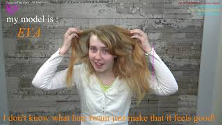 I don't know what hair I want just make that it feels good!* Eva models tutorial by T.K.S