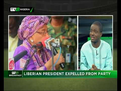 TVCBreakfast| 16th Jan. 2018| Liberia's president expelled from her party