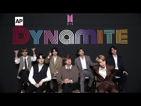 BTS surprised by success of hit single 'Dynamite'