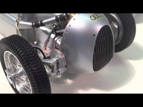 CMC Auto Union Type C, 1936-37 Die Cast Model Review - Riverside-Collectibles.com