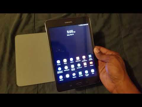 Samsung Galaxy Tab a 8  inches I am talking about my tablet