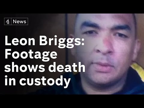 Harrowing video of run up to death of Leon Briggs in custody shown at inquest