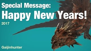 Happy New Years message