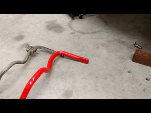 How-to Subaru Sway Bar Install, Front/Rear.