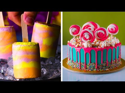 Jump Into Summer with These Fun Frozen Treats!   Summer Dessert Recipes by So Yummy