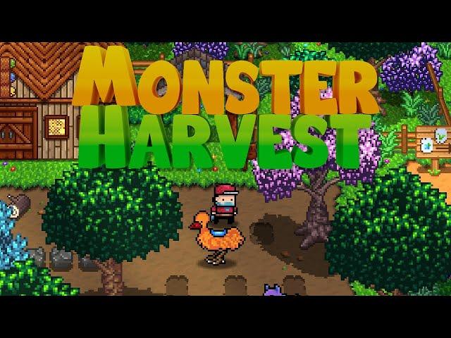 Stardew Valley Meets Pokemon! (Jon's Watch - Monster Harvest)