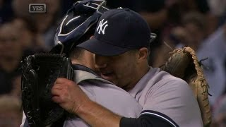 Pettitte gets final out in his final start