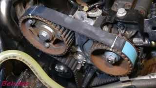 Renault Scenic 3. Ремонт. Замена ремня ГРМ и помпы.