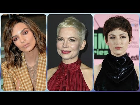 20 celebrity hairstyles   2018 hair trends for women