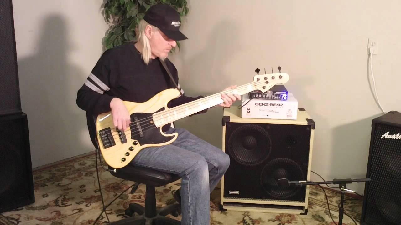 Avatar B212 Bass Guitar Speaker Cabinet Demo Eminence Delta 12 LF ...