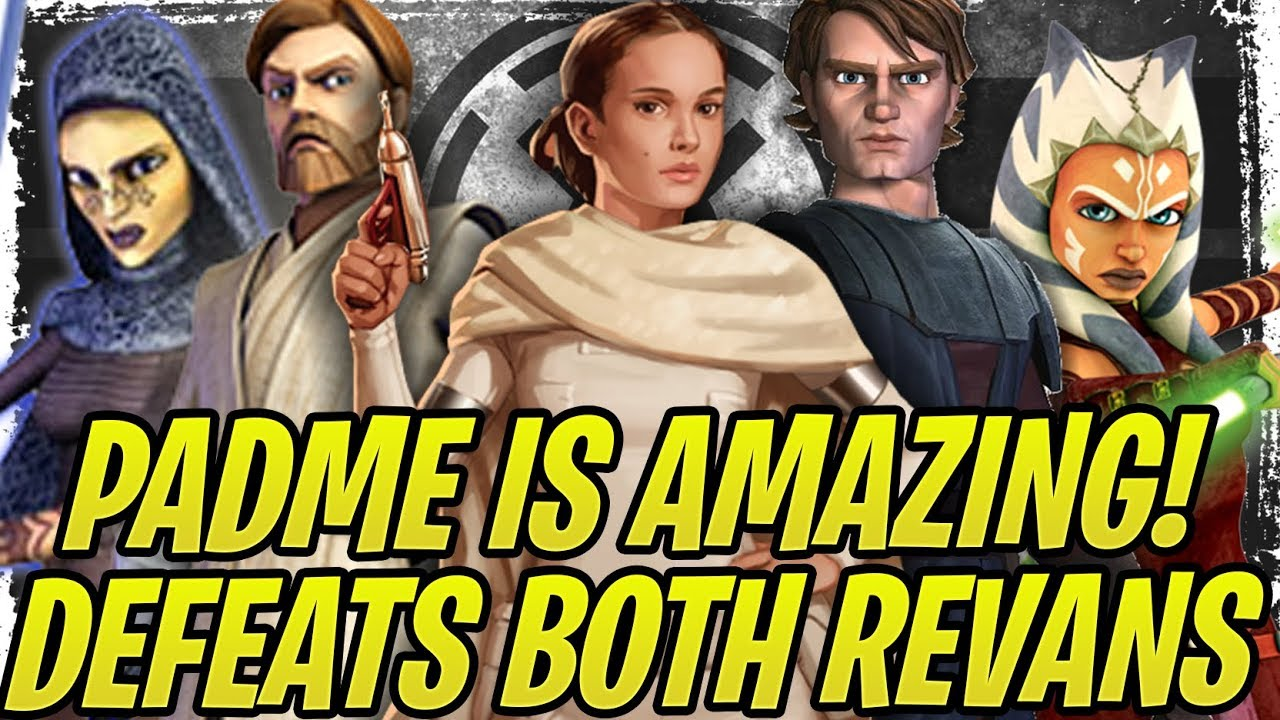 Padme + Barriss is DEADLY! Beats Jedi + Darth Revan! Galactic