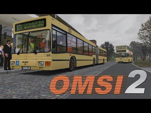 OMSI 2 Berlin Spandau - Line 130 U Ruhleben - Nervenklinik