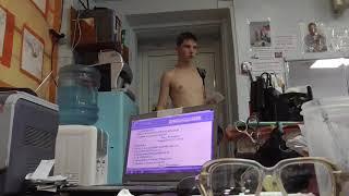 Останин Денис, 13 лет, вк 56  Рывок 18 кг Новичок