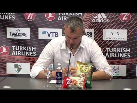EuroLeague: Žalgiris Kaunas – Crvena Zvezda Belgrade press conference
