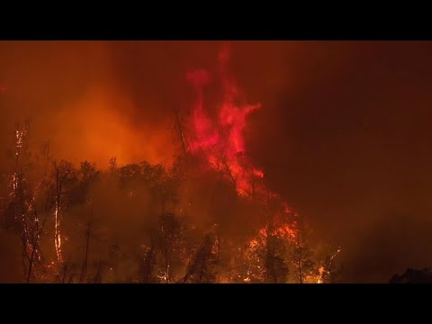 California wildfires burn more than 80,000 acres