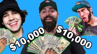 $10,000 YouTuber BeerPong Tournament!! (Ft. KeemStar, NELK, Faze Banks, David Dobrik, Ice Poseidon)
