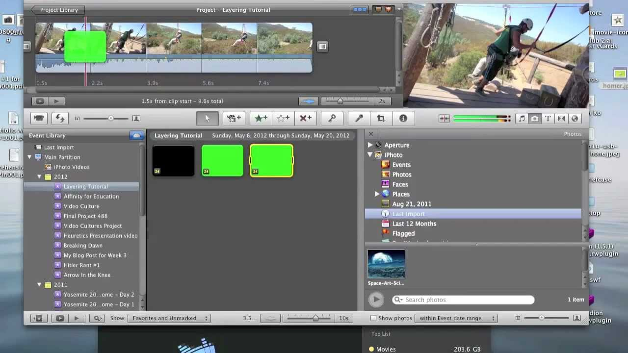 Moving Images/Text In iMovie