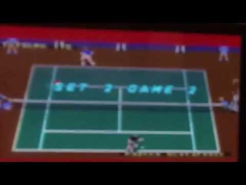 ATP world tour tennis on sega mega drive